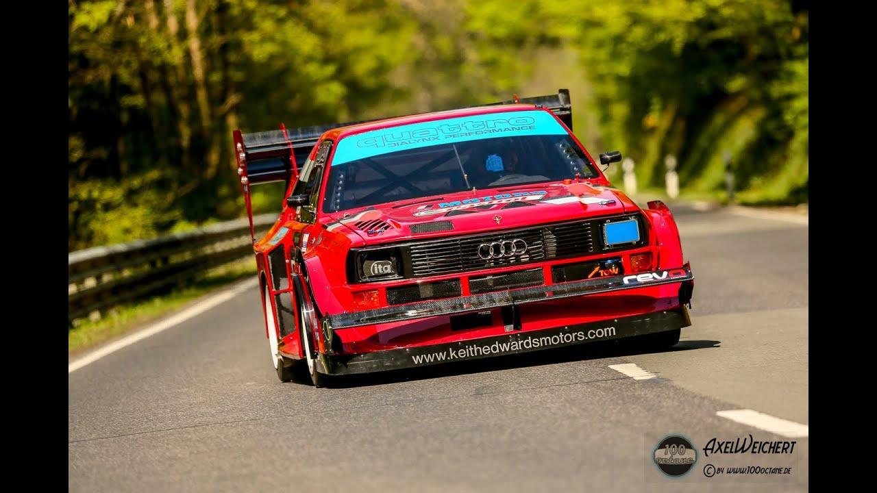 Audi Quattro S1 Pikes Peak  Keith Edwards  European Hill Race