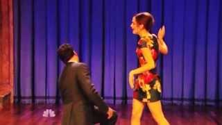 Emma Watson on Jimmy Fallon   Moves like jagger
