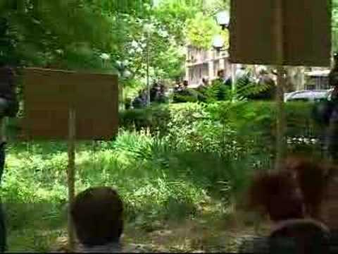 16.15.08 Yerevan. protest action near Prosecutor General's Office