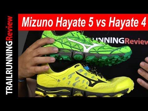 Mizuno Wave Hayate 5 Vs Mizuno Wave Hayate 4