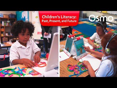 Children's Literacy - Past, Present, and Future