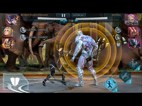 Repeat Injustice 2 Mobile Batman Ninja Catwoman Robin Vs Darkseid Legendary Team After Update 3 2 By Gear999 You2repeat