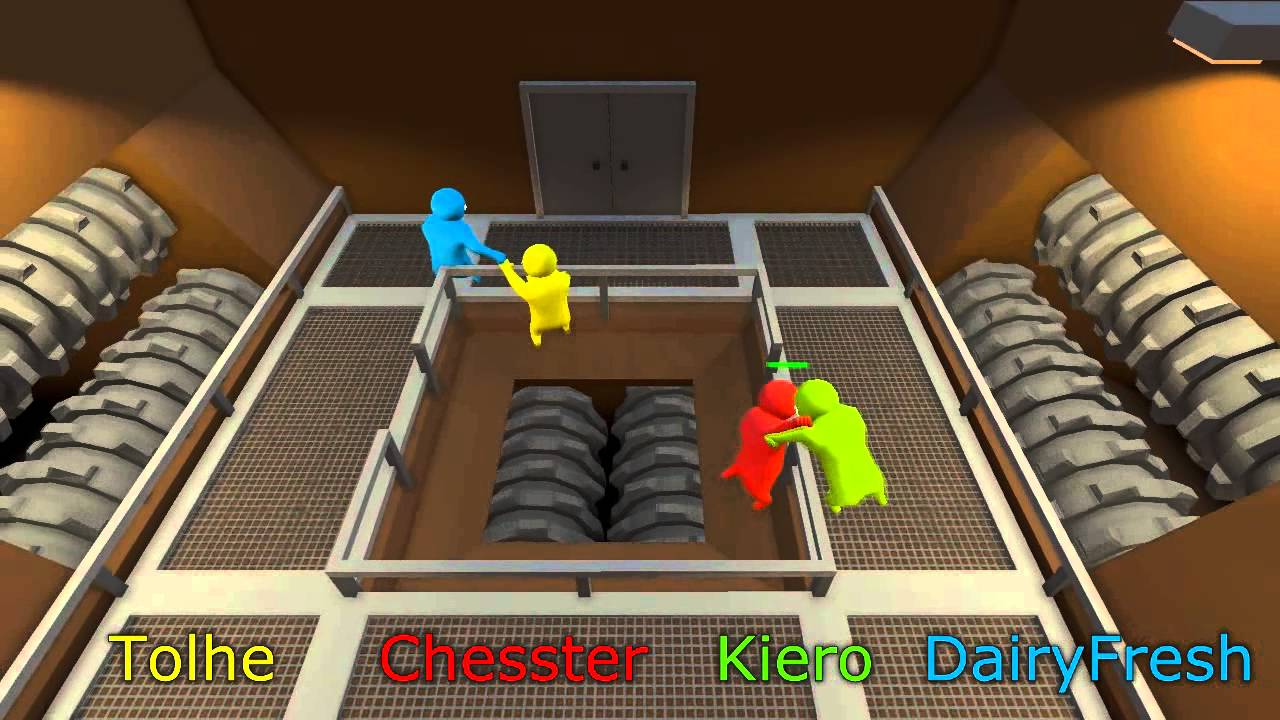 how to play gang beasts with hamachi