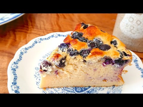 how-to-make-blueberry-ricotta-cheesecake-/-recipe-ふわふわブルーベリーリコッタチーズケーキ-レシピ