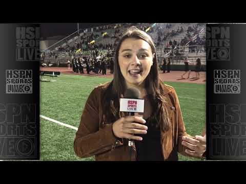 KATHRYN GALLO HSPN HALFTIME REPORT & HIGHLIGHTS - LIVE HIGH SCHOOL FOOTBALL BROADCAST & LIVE STREAM