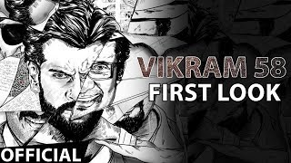 Vikram 58 Official Firstlook | Ajay Gnanamuthu | Chiyaan Vikram | Anurag Kashyap