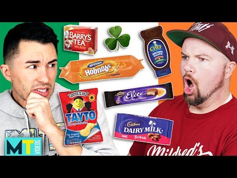 Americans Try Weird Irish Food For The First Time