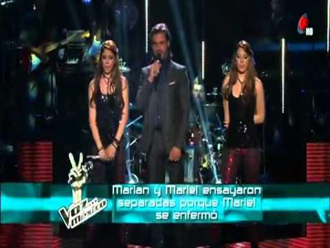 Marian Y Mariel  Te Dejo En Libertad  La Voz Mexico   Video Dailymotion