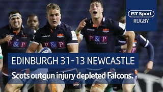 Edinburgh vs Newcastle (31-13) | Heineken Champions Cup Highlights