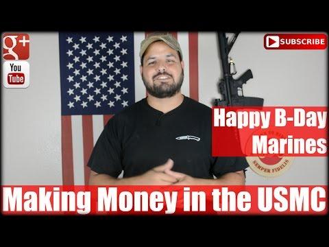 Making Money in the USMC: Happy Birthday Marines