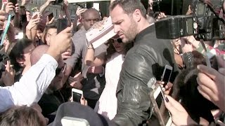 Rihanna creates a fan frenzy in Paris at L Avenue and Dior flagship - Bodyguard Fall