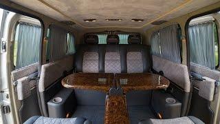 Переоборудование микроавтобуса Mercedes Vito VIP (Мерседес Вито) от AKKERMAN-BUS(, 2014-09-13T10:22:15.000Z)