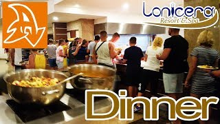 Lonicera Resort and Spa 5 Обзор отеля Ужин The main restaurant Food Dinner