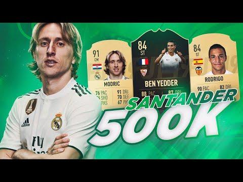 FIFA 19   LA MEJOR LIGA SANTANDER POR 500K MONEDAS !!