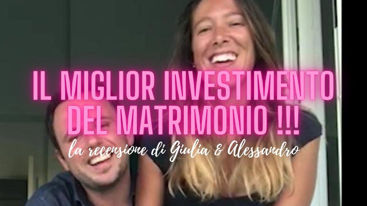 VIDEO MATRIMONIO | La recensione di Giulia & Alessandro