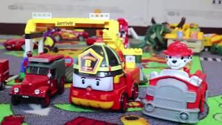 Мультики с Игрушками для Детей:  Робокар Поли, Щенячий патруль, Пожарные Машинки | Новые Серии 2019