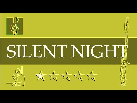 Flute Notes Tutorial - Silent Night - Gruber - Christmas Song (Sheet Music)