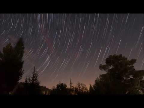 Perseid Meteor Shower - Troodos Botanical Garden - Cyprus
