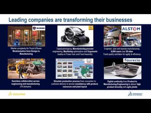 Webinar: Transforming Complex Manufacturing - Planning Automotive Value Chains   DELMIA Quintiq