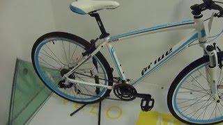 Pride Cross lady 2015 -  велосипед 28  общий видеообзор