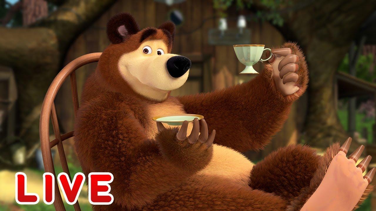 ? LIVE ?♀️? Masha y el Oso ?☀️El jueves con el Oso ?☀️  Masha and the Bear?EN VIVO