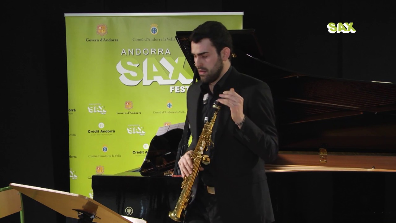 DANIEL SANCHEZ MANJAVACAS - 1st ROUND - V ANDORRA INTERNATIONAL SAXOPHONE COMPETITION 2018