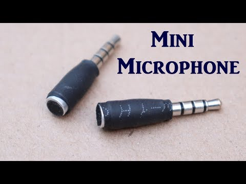 Make a Microphone from Old Earphone