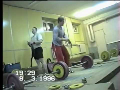 08.03.1996. Coaching athletes Olympic Reserve School of Moscow