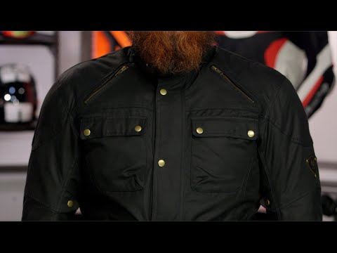 Merlin Rowan Wax Jacket Review At Revzilla Com Youtube