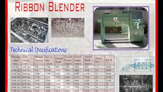 Pharma Blender Double Cone Blender,ribbon Blender, Octagonal Blender, 9998252299