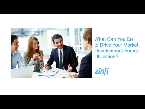 What You Can Do To Drive Your Market Development Funds Utilization