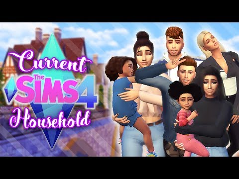 MY SIMS 4 CURRENT HOUSEHOLD | SEPTEMBER 2017 |