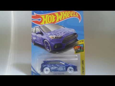 UNBOXING HOTWHEELS FORD FOCUS RS