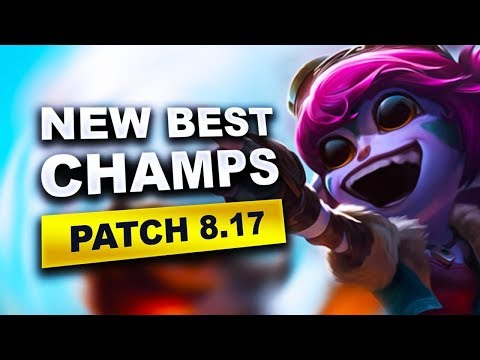 New Best Champions in Patch 8.17 SEASON 8 for Climbing in EVERY ROLE (League of Legends) thumbnail