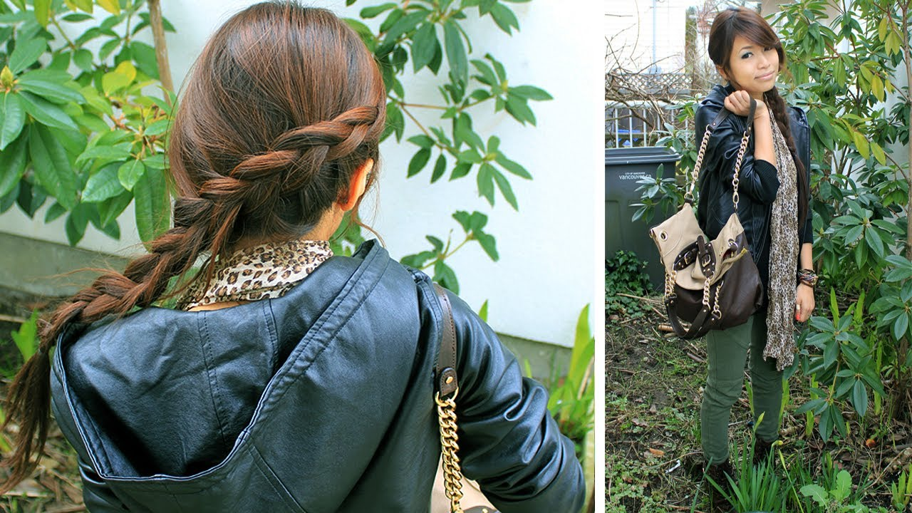 the hunger games katniss everdeen inspired hair tutorial and the hunger games katniss everdeen inspired hair tutorial and outfit