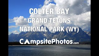 Colter Bay Campground, Grand Teton National Park, Wyoming