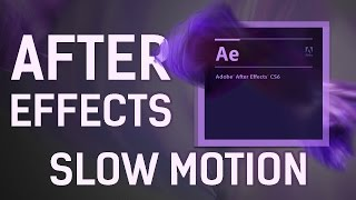 After Effects Slow Motion Tutorial - Twixtor Smooth Slow Mo