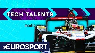 How to Set Up a Formula E Car | Tech Talents Episode 2 | Formula E | Eurosport