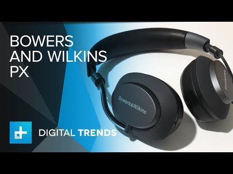 b0f80cac1413e3 Bowers & Wilkins PX Noise Cancelling Headphones - Hands On - YouTube