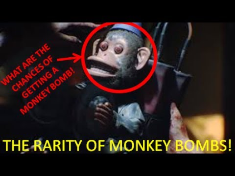WHAT ARE THE CHANCES OF GETTING A MONKEY BOMB(MONKEY BOMB RARITY)