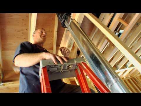 Cully Grove:  HRV/Heat Recovery Ventilator Installation
