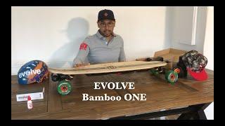 Evolve Bamboo One Review, longboard électrique puissant? #Vlog1