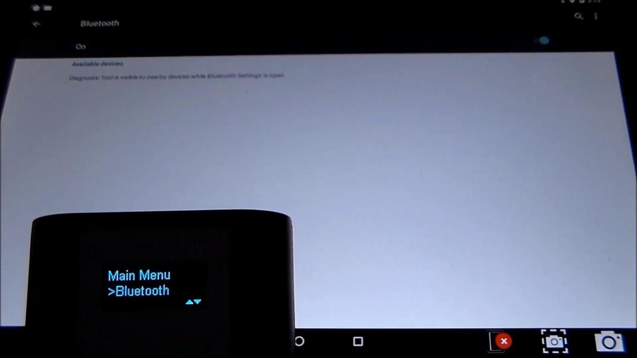 Evolve Diagnostic Tablet | Bosch