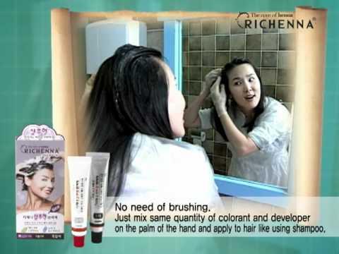 Richenna Ez Speedy Hair Color Youtube