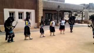 Acoma Buffalo dancers