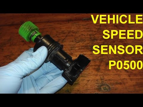 Vehicle Speed Sensor P0500 Replacement
