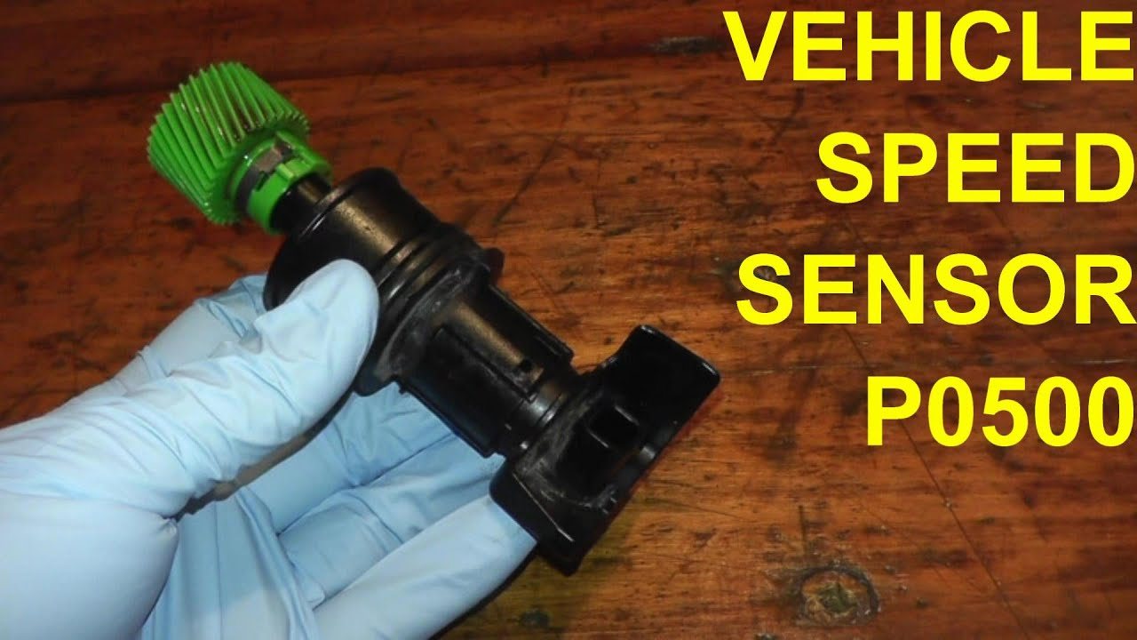 small resolution of vehicle speed sensor p0500 replacement