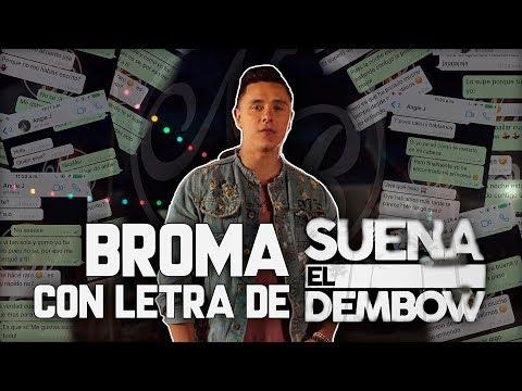 Joey Montana, Sebastián Yatra - Suena El Dembow | BROMA Con Letra De CANCIÓN | NB