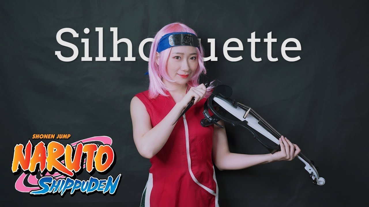 NARUTO -ナルト- 疾風伝 OP16「Silhouette / シルエット」Haruno Sakura Cosplay Kathie Violin cover