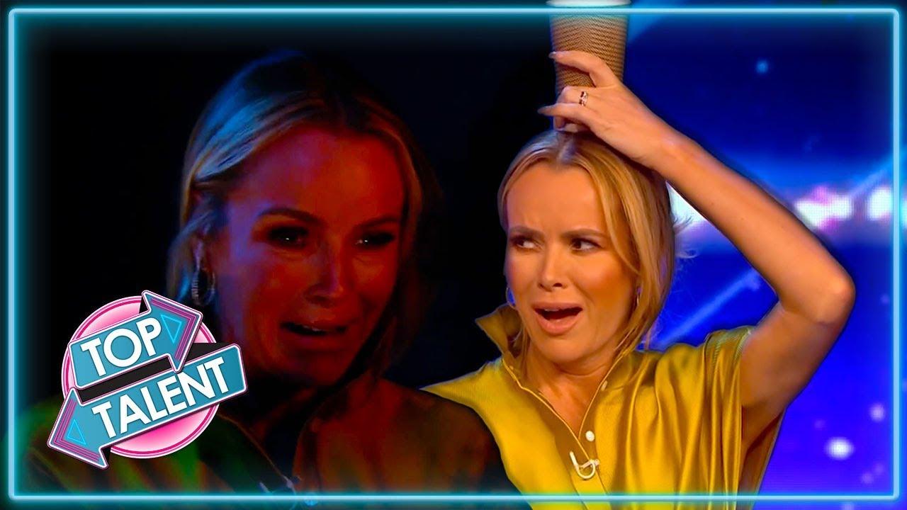 Amanda Holden S Best Moments On Britain S Got Talent 2019